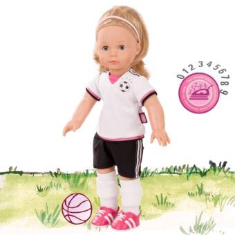 Jessica, a focista baba vasalható mezszámmal