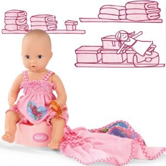 Fürdethető Götz Aquini kislány baba