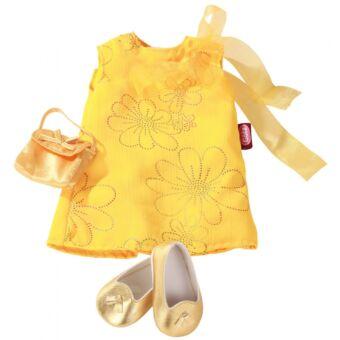 Götz, bájos, arany ruhaszett