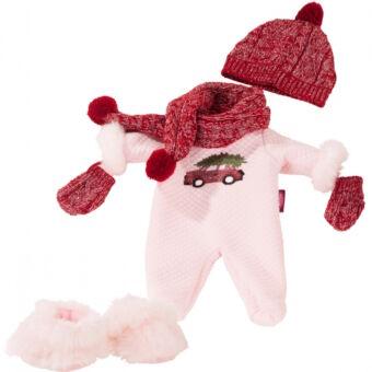 Kényelmes, karácsonyi Götz babaruha-szett