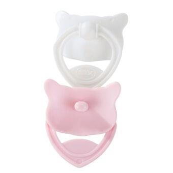GÖTZ  cumi, 2db rózsaszín/fehér Cookie babákhoz